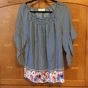 Terra & Sky ladies 14W blouse